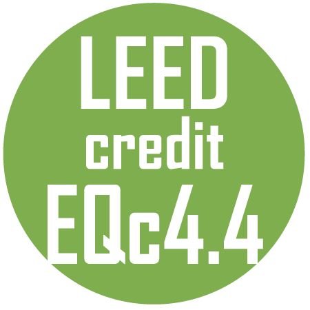 Flooring Qulifies for EQc4.4 Leed Credit