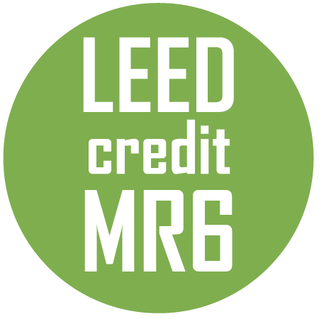 Flooring Qulifies for MRc6 Leed Credit